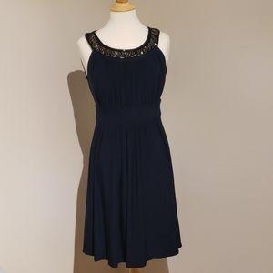 Party dress navy blue